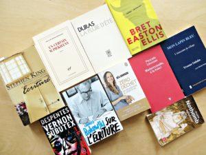 selection livres completement flou