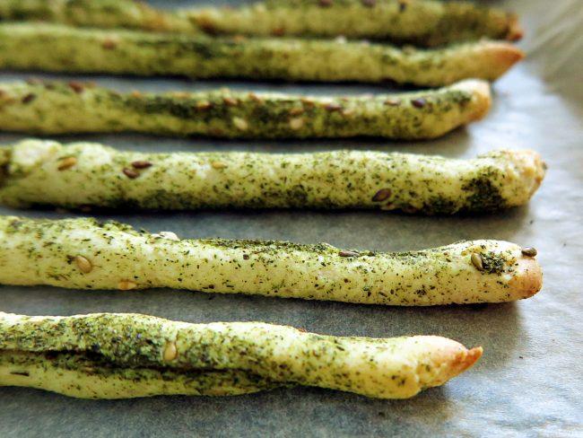 recette italienne gressins