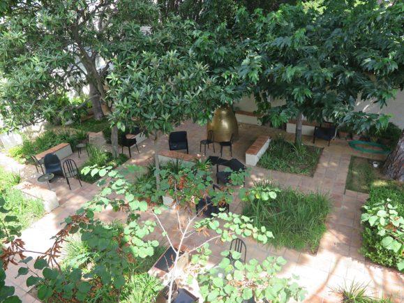cour intérieure villa noailles