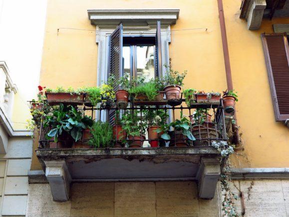 balcons fleuris milan