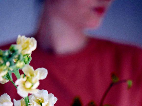 fleurs femme bouquet