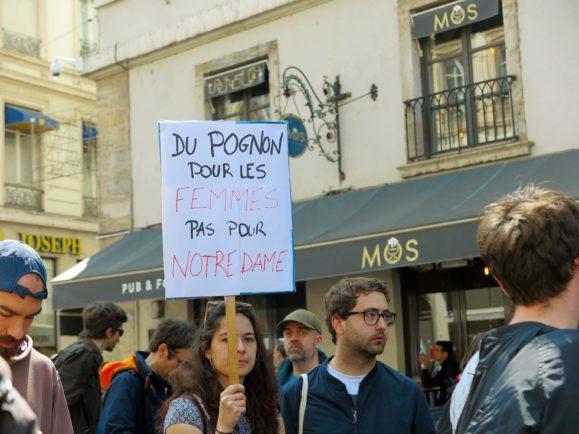 manifestation protestation féminisme mai
