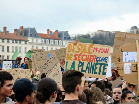 rassemblement climat jeunes lyon