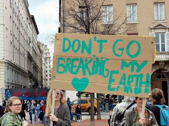 global strike climat lyon
