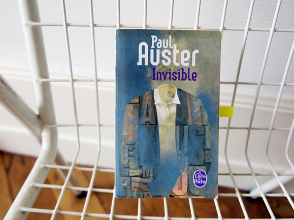 livre invisible paul auster